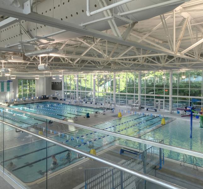 Brooks Family YMCA pools